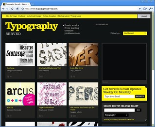 Grotesqa 4F featured on Typography Served | by Sergiy Tkachenko / 4th february