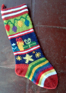 Mix-It-Up Christmas Stocking | by sailingknitter