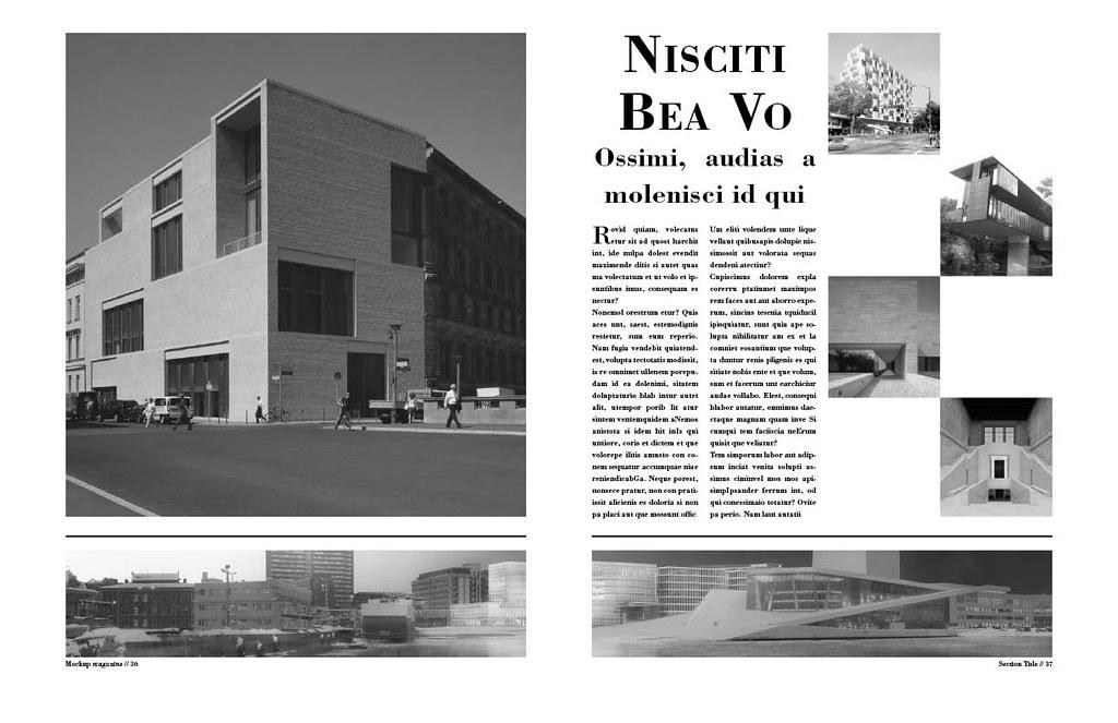 Architecture magazine layout courtney courtney smith for Free architecture magazines