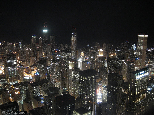 Chicago Skyline @ Night | by Rhys A.