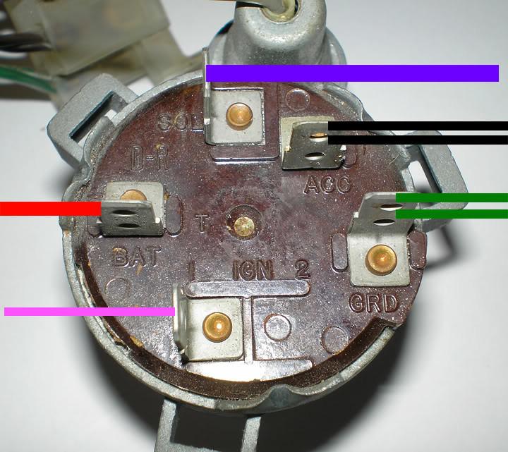 Ignition Switch Wiring 66 Impala