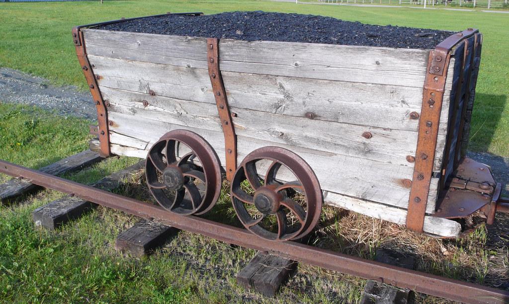 Old coal mining cart istvan hernadi flickr