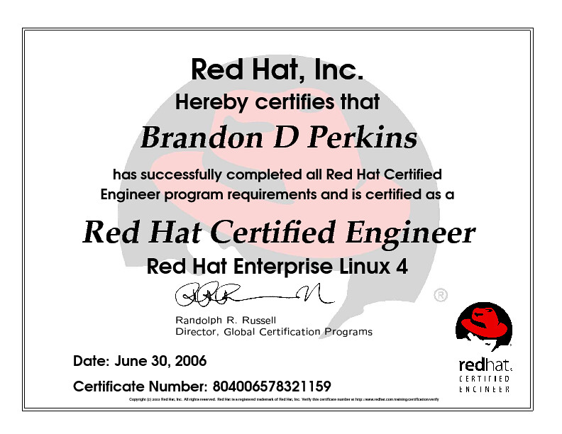 Red Hat Certified Engineer Red Hat Enterprise Linux 4 | Flickr