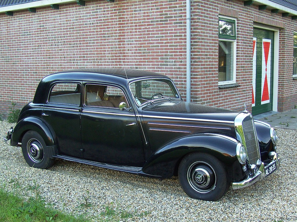 1952 Mercedes Benz 220 A Beautiful Car But With A