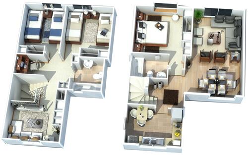 planta casas puerta sur | inmobiliaria avellaneda | flickr
