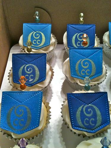 diamonds and denim diamond and denim themed cupcakes for