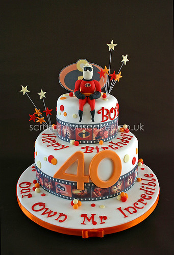 Birthday Cake 635 Mr Incredible Paula Jane Bourke
