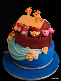 Noah's Ark for a Baby Shower | by Ken's Oven