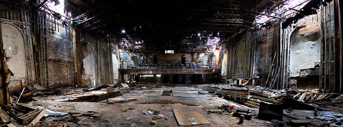 another abandoned theatre in Detroit | by paulhitz