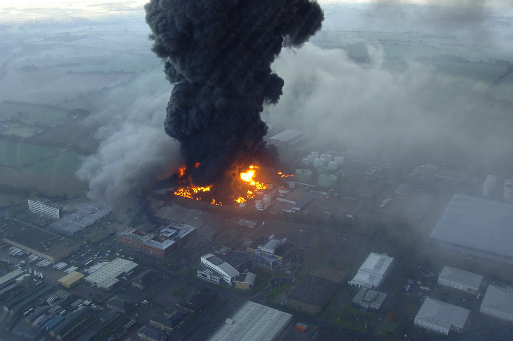 Buncefield Explosion The Buncefield Explosion On The