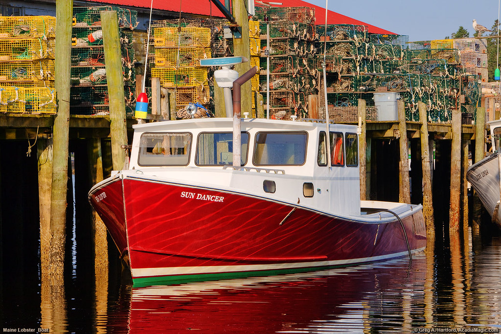 Maine Lobster Boat, Acadia | This is another Maine Lobster B… | Flickr