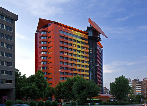 Hotel silken puerta america madrid spain copyright for Hotel america madrid