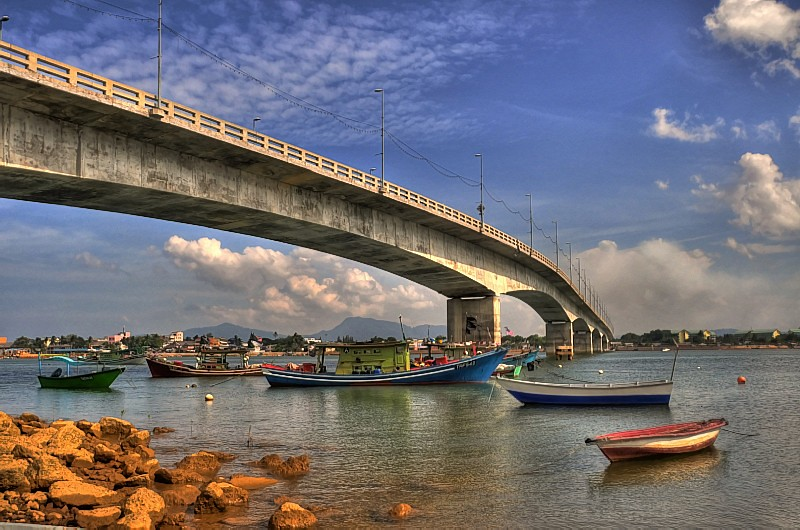 the bridge 03   kuala dungun