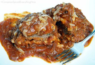 Salisbury Steaks with French Onion Sauce | by CinnamonKitchn