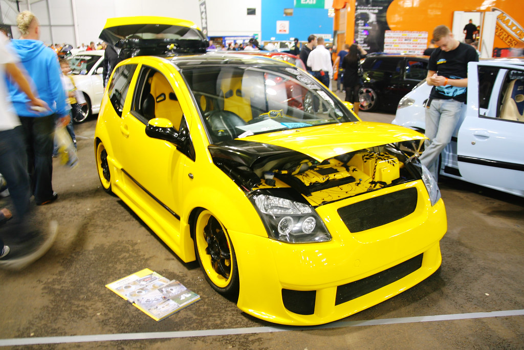 Chevrolet Cruze White Modified >> Scottish Modified Car Show @ Royal Highland Centre, Edinbu… | Flickr