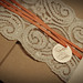 Lace/Recycled Wedding Invitations