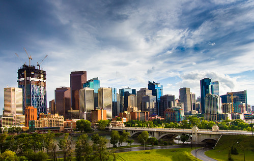 The Calgary Skyline | by Jim Boud