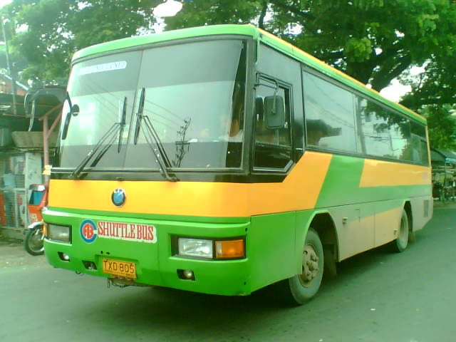 Fb Shuttle Bus Kia Motors Kinunan Noong July 22 2010 Sa