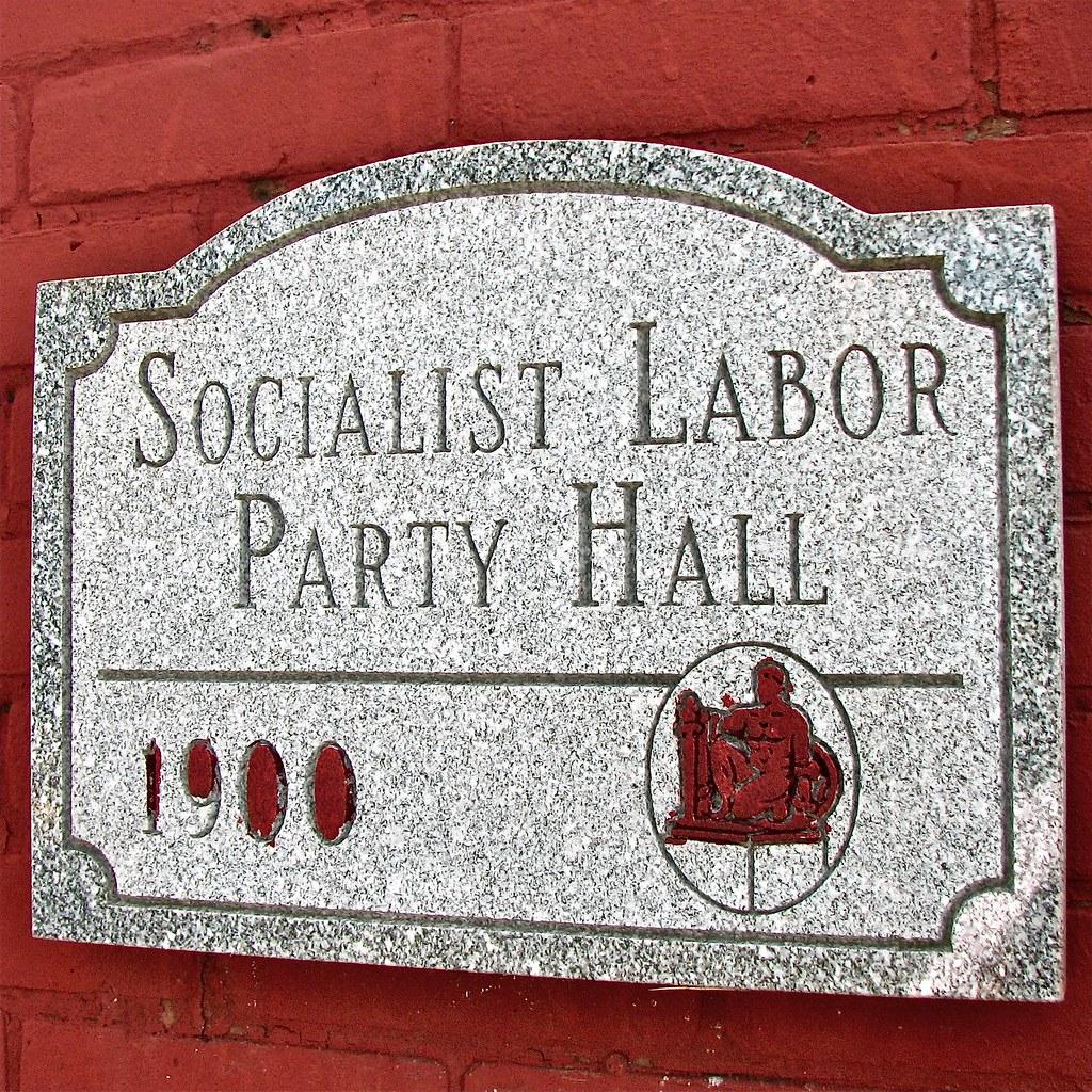 socialist labor party hall  1900   u2013 stone historical marke