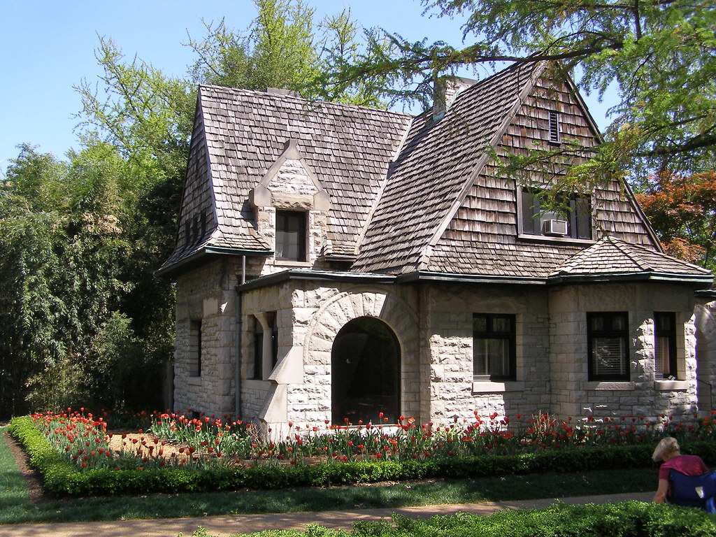cleveland gate house missouri botanical garden once a sta flickr