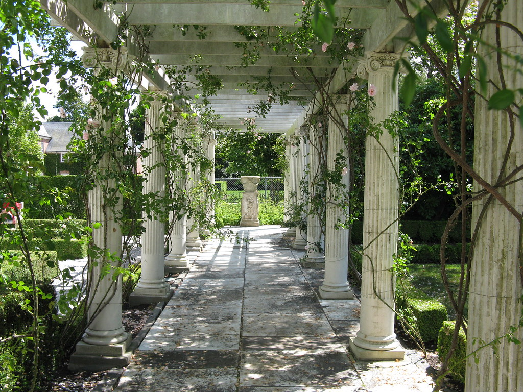 Garden Rosecliff Mansion Newport R I Loved All Those