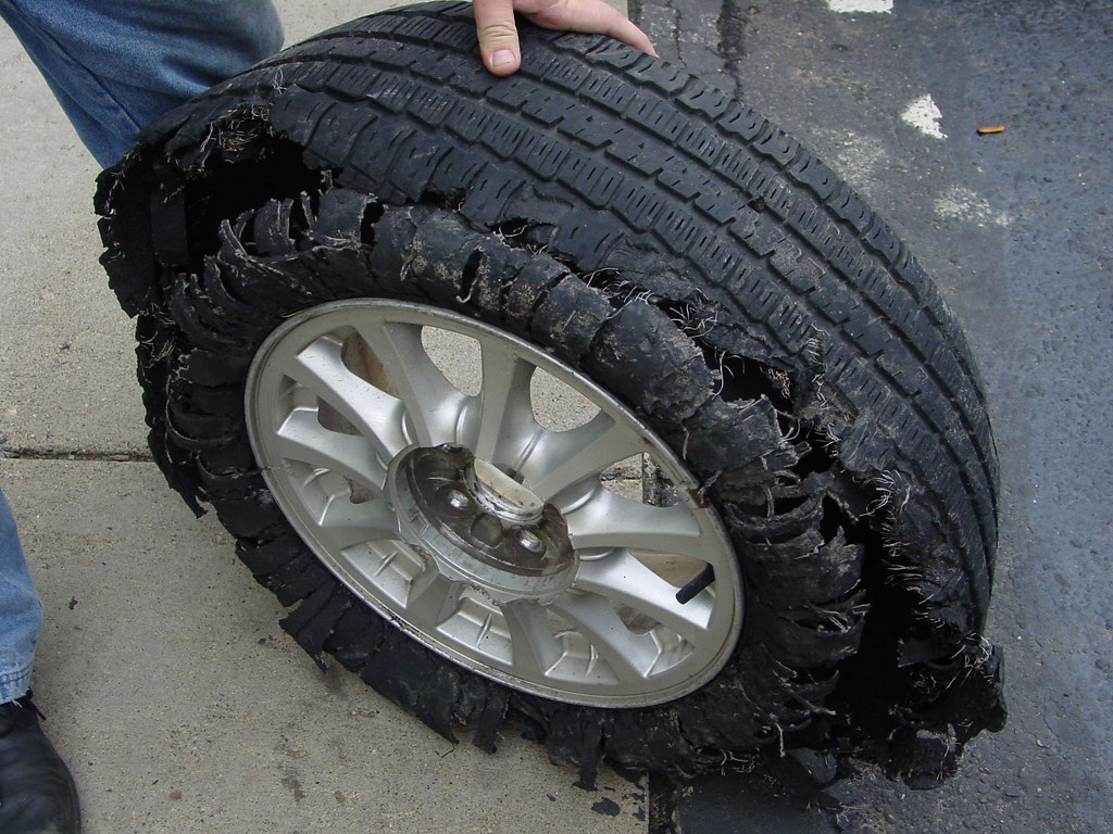 Flat Tire | Tire and Vehicle related photos from the Tirezoo… | Flickr
