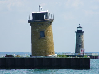 St. Clair Flats South Channel Range Lights (Lake St. Clair, Michigan) | by cseeman