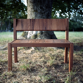 redwood benches | by rugosa rosa