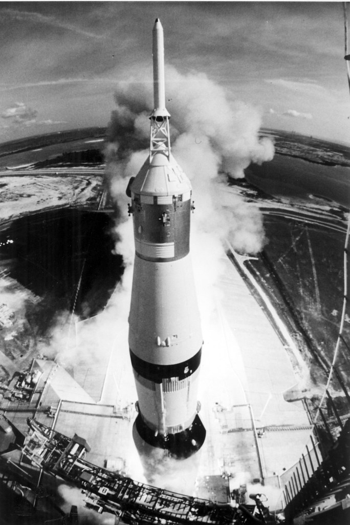 Image result for saturn v launch