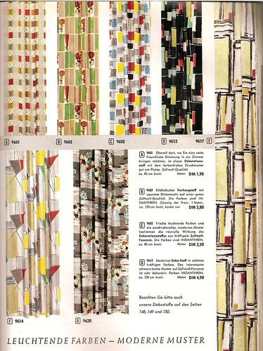 1959 otto katalog stoffmuster gardinen gardinenmuster flickr. Black Bedroom Furniture Sets. Home Design Ideas