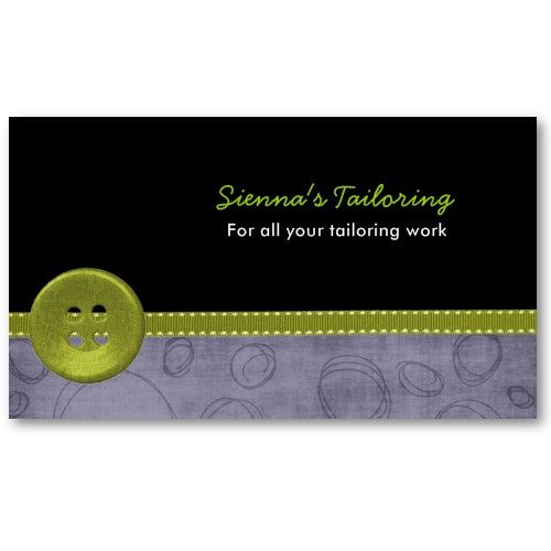 Tailoring Business Card | For detail: Tailoring Business Car… | Flickr