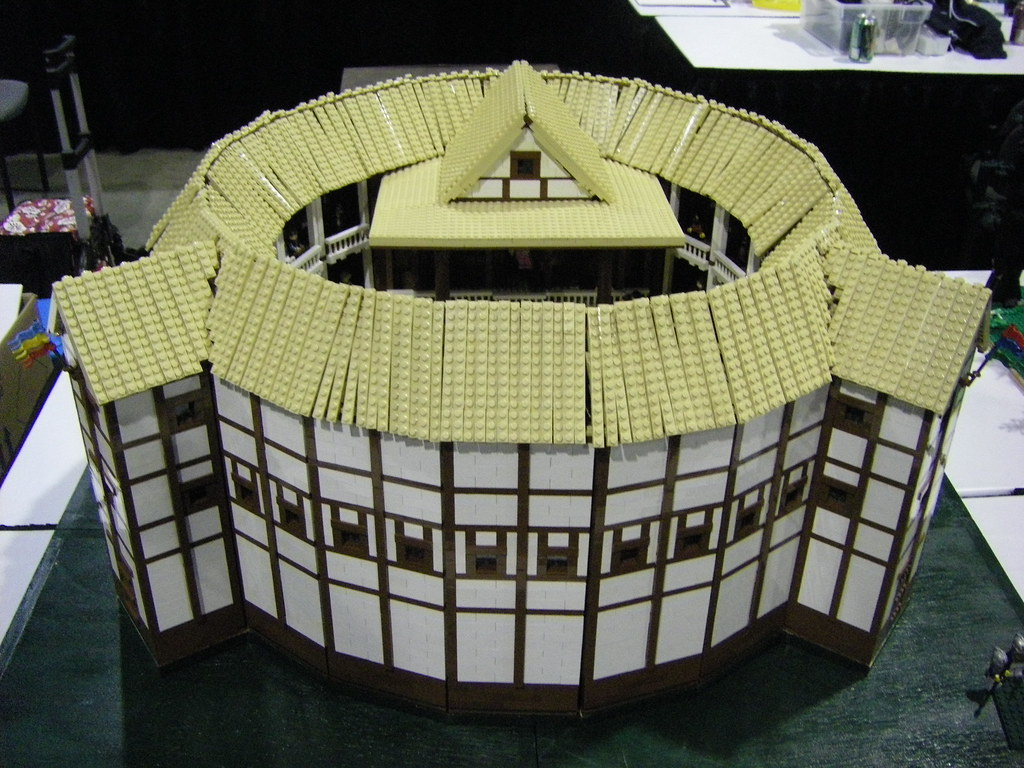 Globe theatre fll bricksouth show 2010 djcolwell for Theatre model