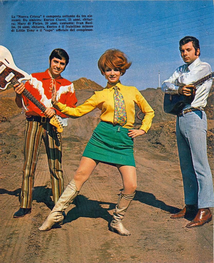 magazine - giovani - 1967 - la cricca - mary di pietro - e ...