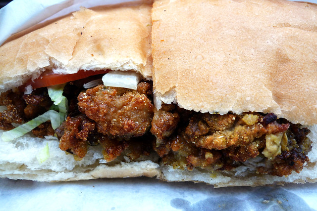 Cheeky Sandwiches Fried Oyster Po'boy | Flickr - Photo Sharing!