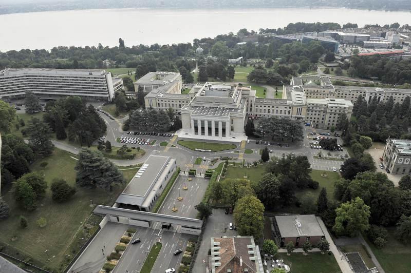 Aerial views of the United Nations Office in Geneva | Flickr