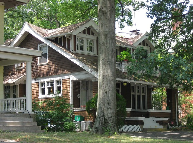 American craftsman bungalow in winton place flickr for American bungalow style