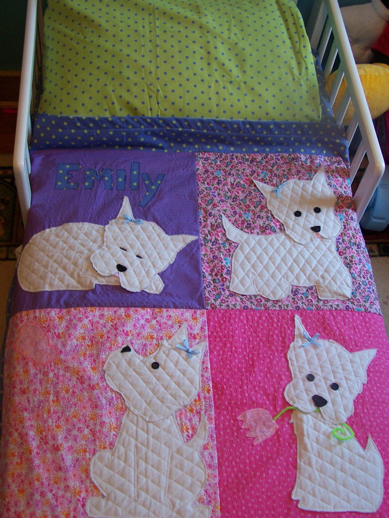 Westie Bedding Gurlrock603 Flickr
