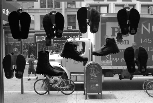 NY Series - Shoe window on Brodway | by Luis Cavaco