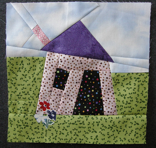 Wonky House Quilt Block swap To be sent to one of my swap ? Flickr