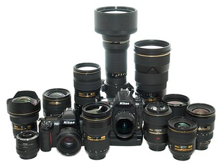 My Nikon Arsenal 8 | by Packing-Light