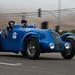 The International Bugatti Rally passes through Morro Bay, CA, 20 August 2010