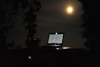 Uploading Work by Moonlight | by goingslowly