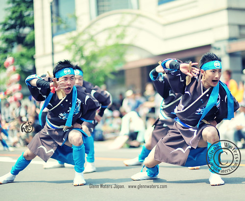 Yosakoi Dance Japan. © Glenn Waters..Over 3,000 visits to this photo. | by Glenn Waters ぐれんin Japan.