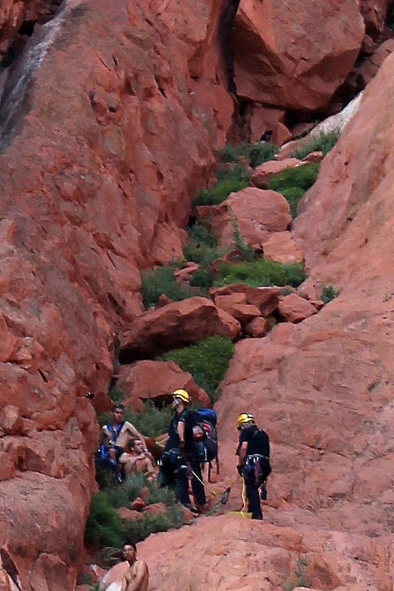 Climbing Rescue Climbing Rescue At Garden Of The Gods
