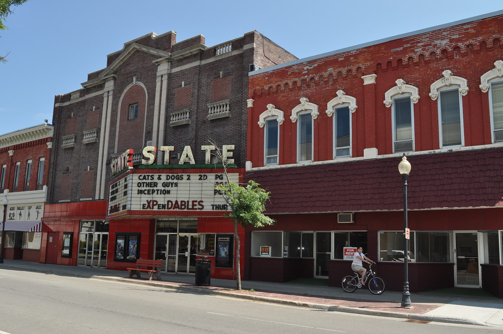 State Theater In Downtown Alpena Michigan The Michigan