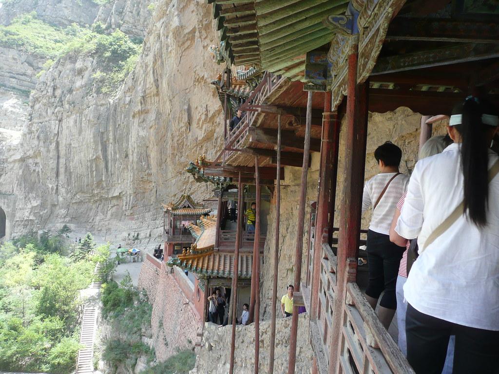 Templo Colgante de Hengshan