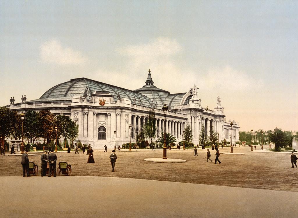 Grand palais exposition universelle paris france 1900 flickr - Expo le grand palais ...