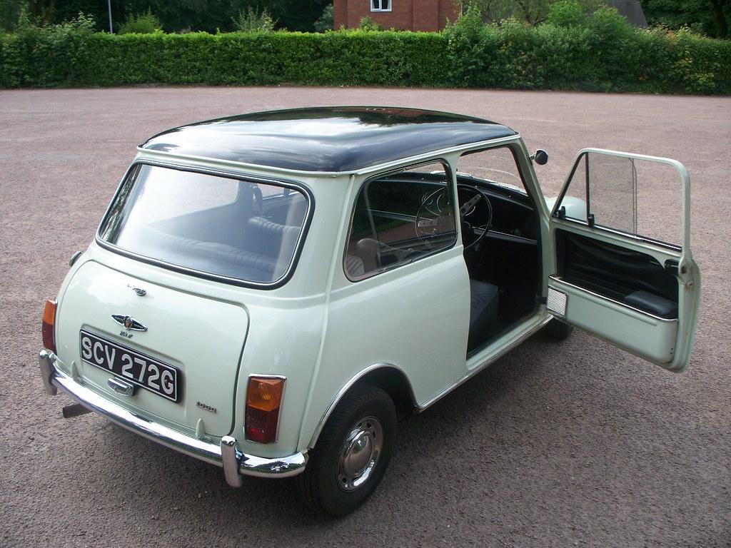 1969 Mk2 Austin Cooper  The interior is bog standard