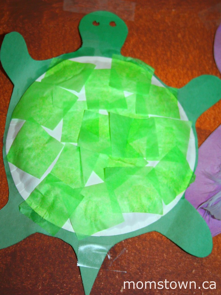 Arts And Crafts For Toddlers With Tissue Paper