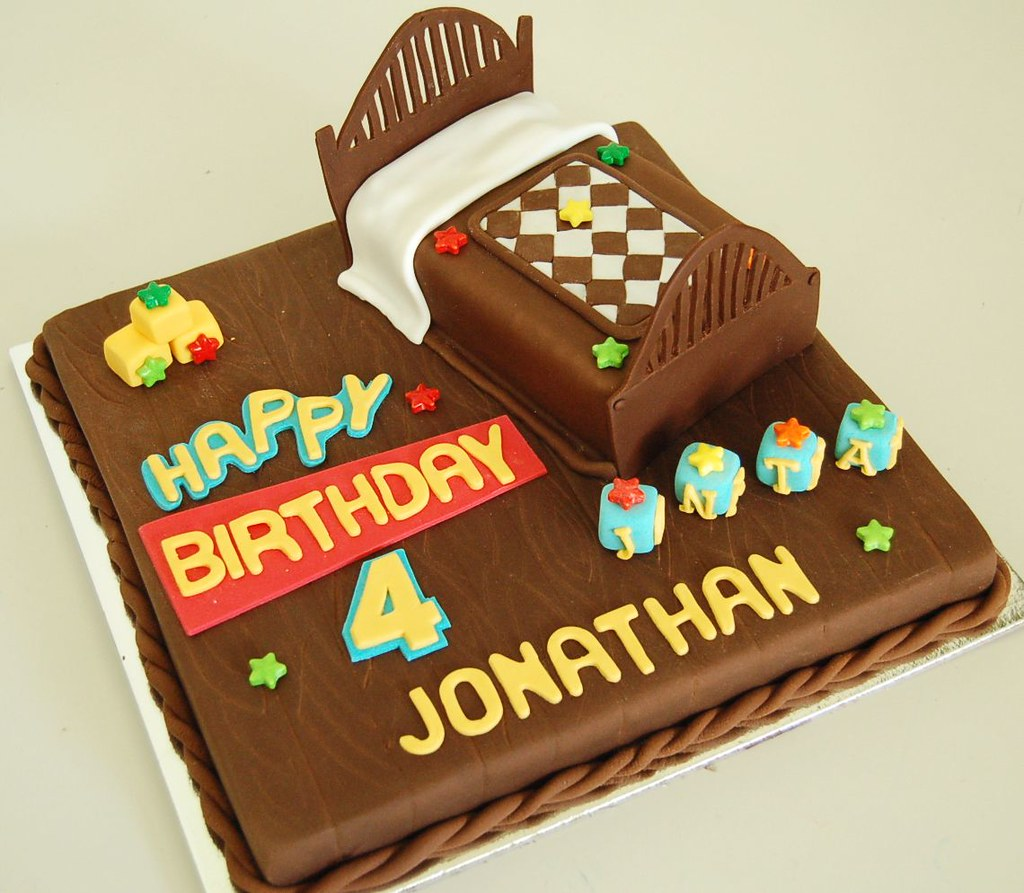 Toy Story Bed Cake For Jonathan Evi Andrianti Flickr